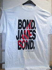 Vintage T-Shirt: 'Bond, James Bond' Logo (XL) (USA, 1994)