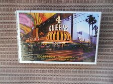 4 QUEENS LAS VEGAS CASINO PLAYING CARDS NEW! SEALED! 3554631313215