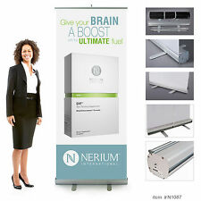 Nerium EHT Retractable Banner 7ft tall.