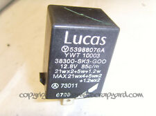Rover 400 45 MG ZS Honda Civic 1.4 1995-2000 relay lucas 53988076A