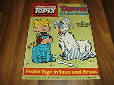 Topix # 8/1976 -- dennis el truhán es el mejor // unas felices días en cayó + vaso