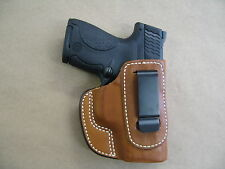 Honor Guard 9mm PIstol IWB Leather In Waistband Concealed Carry Holster TAN RH