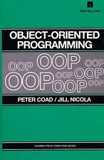 Object-Oriented Programming, Nicola, Jill, Coad, Peter, Good Condition, Book
