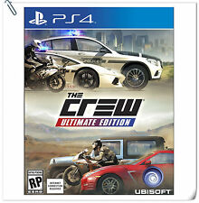 PS4 The Crew: Ultimate Edition SONY PlayStation Racing Games Ubisoft