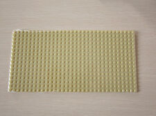3ps NEW for Lego Baseplates Base Plates Brick Building 16 x 32 Dots Light yellow