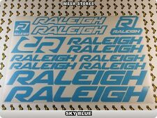 RALEIGH Stickers Decals Bicycles Bikes Cycles Frames Forks Mountain MTB BMX 59MJ