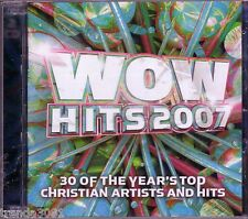 WOW Hits 2007 2CD Box Classic Christian Rock Pop TOBYMAC THIRD DAY CHRIS TOMLIN
