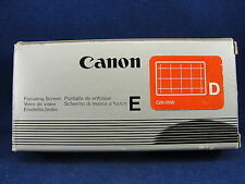 Genuine Cannon focusing Screen E-D U CZ6-0556 New in Box Made In Japan