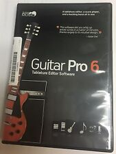 New Arobas Music Guitar Pro 6 Multitrack DAW Tablature Software for Mac Windows