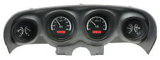 Dakota Digital 69 70 Ford Mustang Analog Dash Gauges Black Red VHX-69F-MUS-K-R