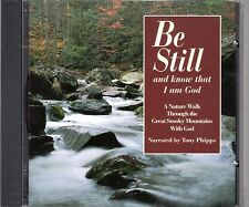 Be Still And Know That I Am God - CD  nature sounds Bible Reading, inspirational