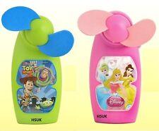 Disney Toy Story o Princess Mini Ventilador de mano 2 uds.