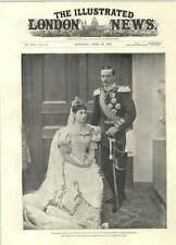 1894 Grand Duke And Grand Duchess Of Hesse Darmstadt