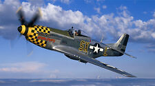 "P-51 MUSTANG MILITARY AIR FORCE AIR CORE 24"" x 43""  LARGE HD WALL POSTER PRINT."