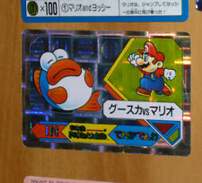 SUPER MARIO WORLD BANPRESTO CARDDASS CARD PRISM CARTE N° 23 NITENDO JAPAN 1992 *