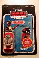 Vintage Star Wars  R2-D2 41  back Kenner FIGURE MINT PALITOY MINT RECARD!