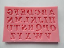 Alphabet Letter Silicone Mould Cookware Non-Stick Cake Decorating Fondant Icing