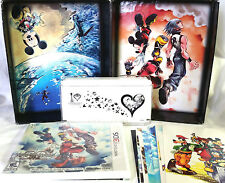 Kingdom Hearts 3D Dream Drop Distance Mark of Mastery Disney 3DS Game Case CIB