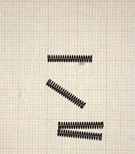 4 x Druckfeder, Länge 15mm, Außen Ø2,5mm, Drahtstärke 0,3mm