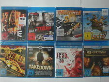 Sammlung Action in 3D - 6 Guns, Bloodsport,van Damme, Sex Sklaven Mafia, The Job