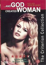 AND GOD CREATED WOMAN   NEW  DVD