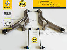 FOR RENAULT CLIO 197 200 RS SPORT FRONT LOWER CONTROL ARMS BALL JOINTS HD LINKS