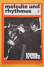 Zeitschrift Melodie und Rhythmus Heft 6 - 1969