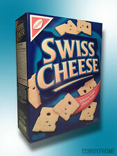 SWISS CHEESE CRACKERS 200g ( 2 BOXES ) *** ALWAYS SHIPPED FRESH