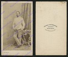 o. Foto Franz Neumayer München K.u.K Kaiserjäger Korporal Galauniform Säbel 1863