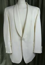 White Dinner Jacket by Daniel Hechter C46R EXCELLENT CONDITION