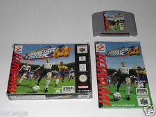 INTERNATIONAL SUPERSTAR SOCCER 64 (ISS 64) & MICHAEL OWEN WLS 2000 for the N64