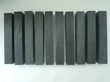 Save $ 5. Ten BLACK bog oak (morta, wood) blanks for pens from 1270-5460 years