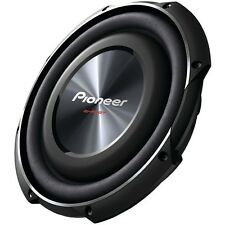 """PIONEER TS-SW2502S4 10"""" 1,200-Watt Shallow-Mount Subwoofer with Single 4_ Voice"""