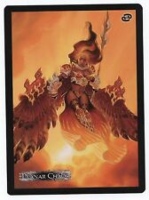 "NEW MTG Magic Planar Chaos Akroma, Angel of Fury Promo 6"" x 8"" Card NEVER USED"