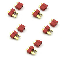 5 pairs T Plug Connector Male & Female Deans Connectors Lipo Battery