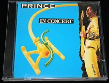 Prince cd 'IN CONCERT' STAGETRONIC **RARE**, LIVE Perf, 28 May 1992, Holland