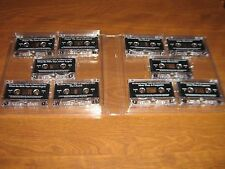 Set of 10 Cassette Tapes of The Literate Listener/Best of Christian Living 1999