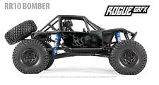 Axial RR10 Bomber Body Graphic Wrap Skin- K-Camo Black