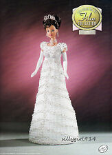 """MY FAIR LADY""~Crochet PATTERN 4 BARBIE FASHION DOLL~Annies GOLDEN AGE OF FILM"