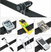 Precision Black Bike Elastic SE0A Strap Mount Holder for Lights Cell Phone BD