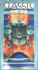1930's MERCEDES Car Poster Print Limited Ed. of 400 PETER PALOMBI Art / Signed