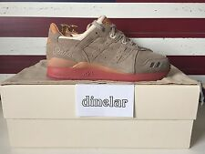 ASICS x Packer Shoes Gel Lyte III Dirty Buck 10 | kith fieg 3 salmon toe militia