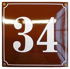 Hausnummernschild 25x25 cm individuell Projekt Hausnummern 10 Jahrige Garantie
