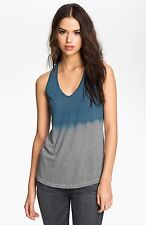 NWT JAMES PERSE Sz3(M/L)DIP DYE STRIPED TANK SLEEVELESS TEE IN BRUIN