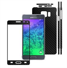 3D Carbon Skin,Full Body Protector for Case,Vinyl Wrap For Samsung Galaxy Alpha