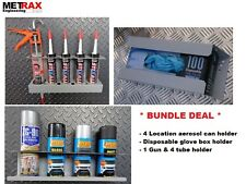 *DEAL Van Storage Bundle Glove Box, Aerosol Can & 1 gun 4 tube holder DEAL*