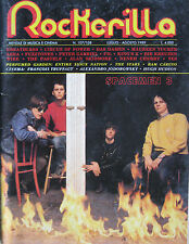 ROCKERILLA 107 1989 Spacemen 3 Breathless Maureen Tucker Junkyard Fasten Belt