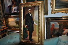 Large  Museum Quality  Abraham Lincoln    Oil Painting