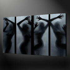 EROTIC GIRLS CANVAS WALL ART PICTURES PRINTS 20 x 16 Inch FREE UK P&P