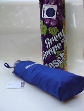 Moschino Blue Automatic Umbrella in Gift Tin RRP £66.00 - BNWT